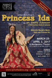 Poster for Lyric Theatre's 2017 production of Princess Ida