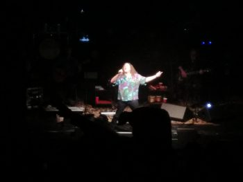 Weird Al Yankovic in concert at the Golden State Theatre, Monterey, 2018-05-17.