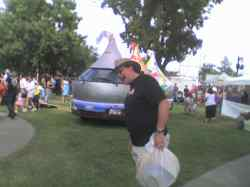 Me trying to eat the Hersheymobile
