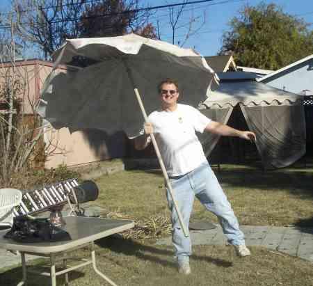 Sara's junk umbrella