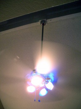 Our new ceiling fan