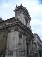Santa Maria della Vittoria full of congregation